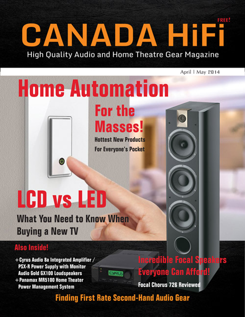 CanadaHiFi 2014 April/May Issue