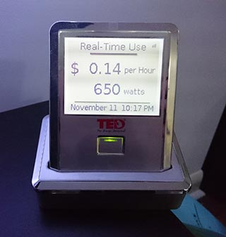 TED5000 Countertop Display